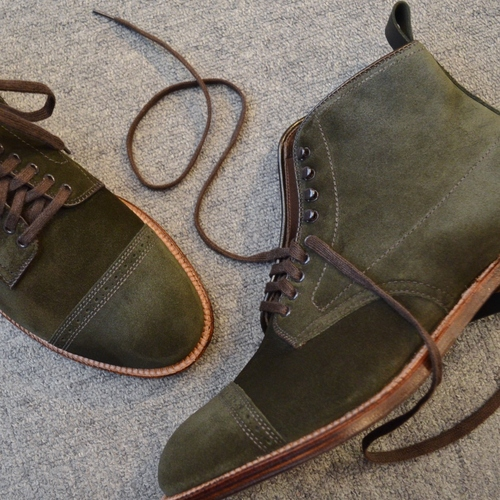 ALDEN HUNTER GREEN COLLECTION