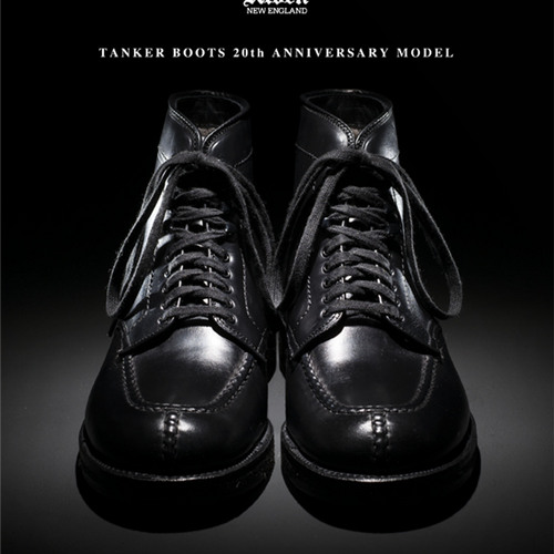 ALDEN TANKER BOOTS    「20th ANNIVERSARY MODEL」