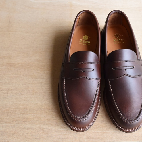 ALDEN N5202F UNLINED PENNY LOAFER