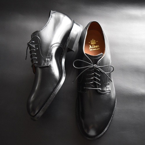 ALDEN 53507 DRESS CALF PLAIN TOE