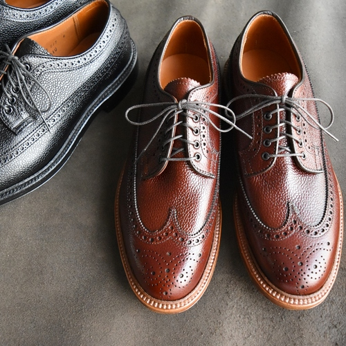 ALDEN N7507 SCOTCH GRAIN CALF LONG WING TIP