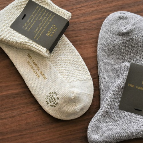 HAND LINKED SOCKS 「QUARTER ANKLE SOCKS」